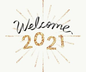 happy new year, new year, and 2021 image