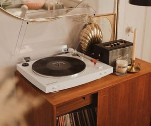 aesthetic, indie, and record player image