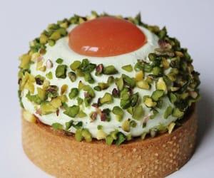 cream, pastry, and tart image