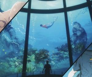 free!, rinharu, and official art image