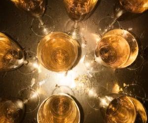 black, celebrate, and champagne image