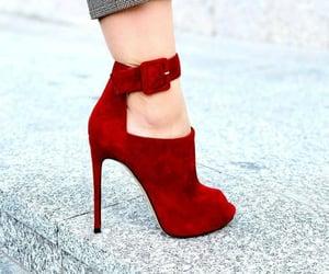 highheels, stylish, and shoes image