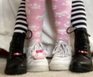 my melody, sanrio, and grunge image