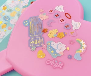 pastel and sticker image