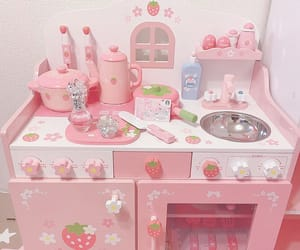pink, soft, and strawberry image
