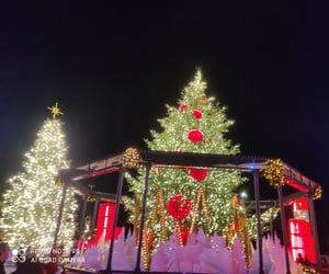 christmas, city life, and city aesthetic image