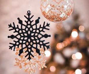 bokeh, christmas, and colors image