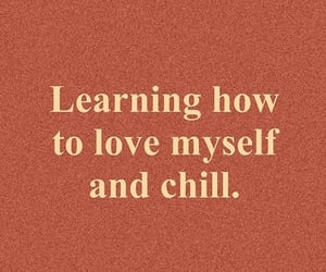 self love, self care, and text image