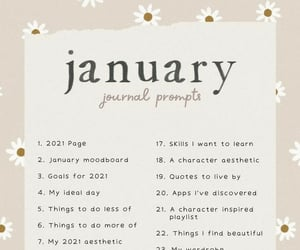 journal and prompts image
