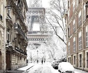 Paris, in winter.