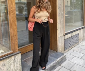 everyday look, fashionista fashionable, and cute summer outfit image