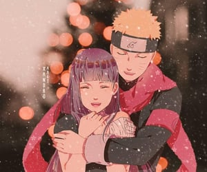 anime, art, and christmas image