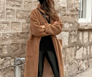 blogger, bottega veneta, and leather pants image