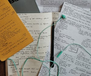 study, college, and notes image
