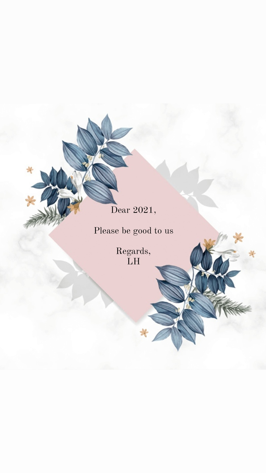 2020, goal, and self reflection image