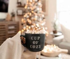 christmas, coffee, and december image