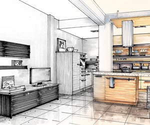 millwork shop drawings, drawing services, and millwork drafting image