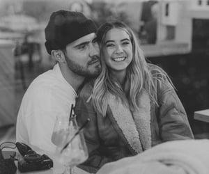 couple, happy, and memories image
