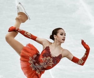 beauty, figure skating, and ice skating image