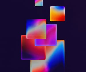 abstract art, gradient, and wallpaper image
