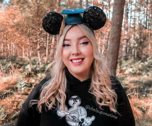 blonde, disney, and disney world image