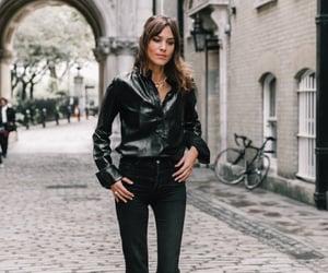 alexa chung, fashion, and street style image