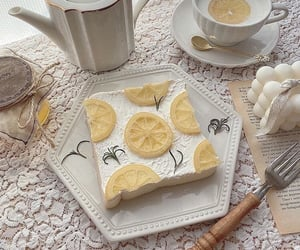 food, aesthetic, and lemon image