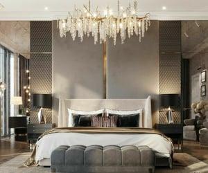 bedroomdecor, luxuryhome, and homedecor image