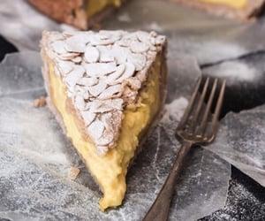 custard, dessert, and vegan image