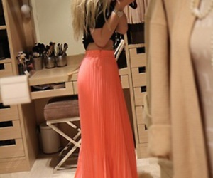 fashion and maxi skirt image