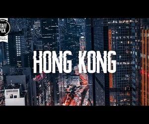 aerial, art, and hong kong image