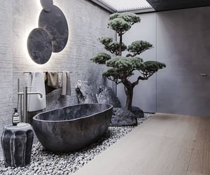 bath, interior design, and decor image