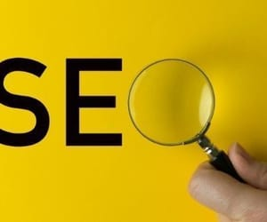 seo, backlinks, and business image