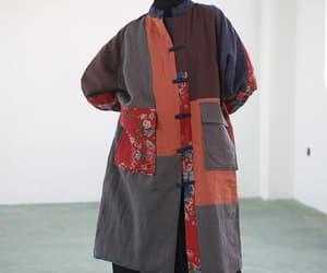 etsy, womens coat, and oversized coat image