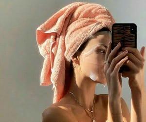 face mask, skincare, and selfcare image