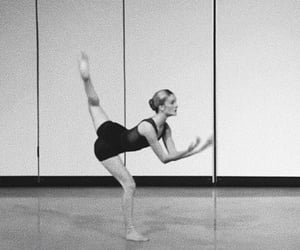 black and white and dance image