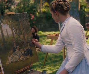 art, film, and little women image