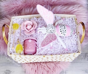 home decor, baby shower gift, and pink room image