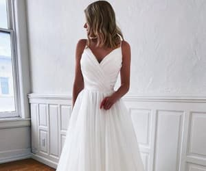 beauty, bridal, and dresses image