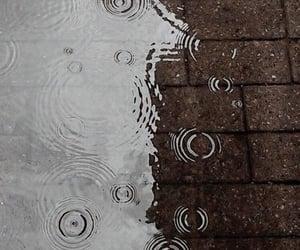 rain, academia, and aesthetic image