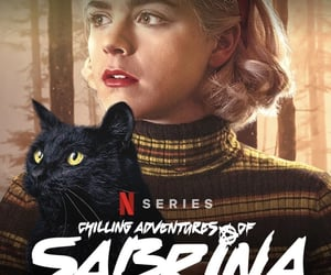 witch, sabrina spellman, and netflix image