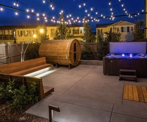 apartment, outdoor, and relax image