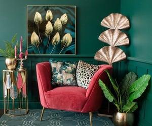 green, home decor, and interior design image