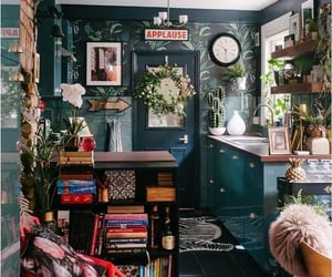 apartment, colorful, and eclectic image