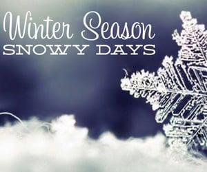 january, winter season, and snow image