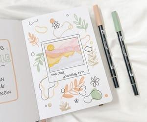 bujo, bullet journal, and bujo inspiration image