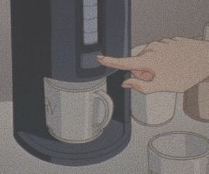 anime, coffee, and lofi image