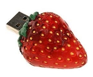 aesthetic, archive, and strawberry image
