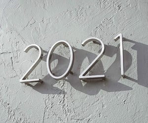 aesthetic, new year, and 2021 image