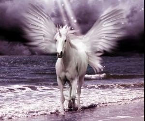 article, mermaid, and unicorn image
